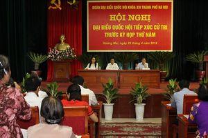 Lịch tiếp xúc cử tri trước kỳ họp thứ sáu Quốc hội khóa XIV của Đoàn đại biểu Quốc hội TP Hà Nội