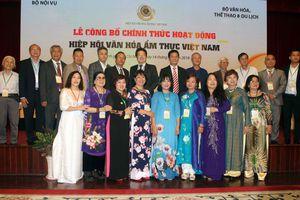 Hiệp hội Văn hóa ẩm thực Việt Nam: Tự tin đưa ẩm thực Việt bước ra thế giới