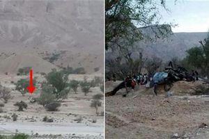 Trực thăng Saudi rơi bí ẩn tại nơi từng bị bắn hạ