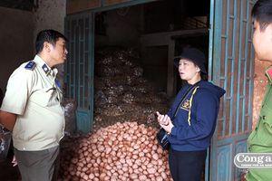 Kiên quyết đưa gần 300 tấn khoai tây Trung Quốc tồn kho ra khỏi chợ nông sản Đà Lạt