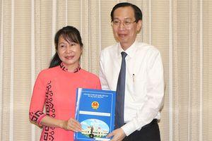 Bà Chu Vân Hải được bổ nhiệm làm Phó Giám đốc Sở KH-CN TPHCM