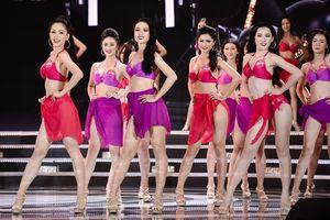 Ngắm vẻ đẹp hình thể của Top 25 Hoa hậu Việt Nam trong màn trình diễn bikini