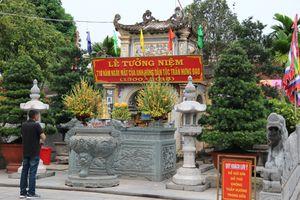 Di tích Côn Sơn- Kiếp Bạc: Cải tạo cảnh quan môi trường trước ngày khai hội