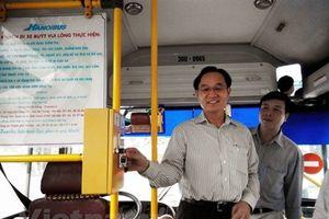 Hà Nội dự kiến dùng vé xe buýt điện tử đầu tiên vào tháng Mười