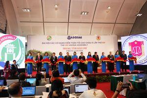 ASOSAI 14: Việt Nam thể hiện tầm nhìn chiến lược về hội nhập và hợp tác quốc tế