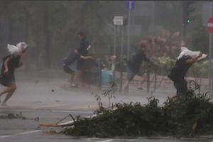 Trung Quốc oằn mình chịu sự tàn phá khủng khiếp của bão Mangkhut