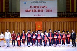 Học viện Âm nhạc Quốc gia Việt Nam kỳ vọng cho năm học mới 2018-2019
