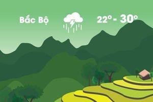 Thời tiết ngày 18/9: Miền Bắc tiếp tục mưa lớn