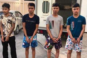 4 thanh niên trong vụ dùng súng bắn chết người bị bắt