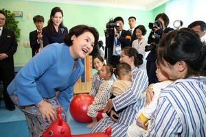 Đệ nhất phu nhân Hàn - Triều thăm bệnh viện, trường học ở Bình Nhưỡng