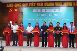 30.000 trẻ sơ sinh tỉnh An Giang được tầm soát bệnh tim bẩm sinh
