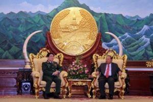 Thúc đẩy hợp tác quốc phòng giữa Việt Nam và Lào