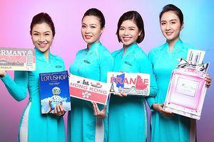 Vietnam Airlines sẵn sàng cho dịch vụ bán hàng miễn thuế trên không