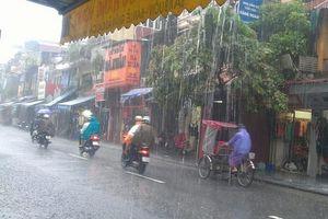 Thời tiết ngày 18/9: Thủ đô Hà Nội có mưa