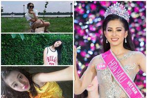Những hình ảnh tạo dáng 'bá đạo' Hoa hậu Việt Nam 2018 Trần Tiểu Vy 'không muốn nhìn lại'