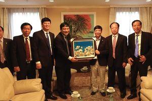 Lãnh đạo tỉnh Nghệ An làm việc với Đại sứ quán Việt Nam tại Nhật Bản