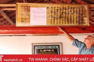 Tôn tạo các nhà thờ họ Nguyễn Huy Trường Lưu để phát huy di sản