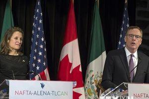 Ngoại trưởng Canada trở lại Mỹ nhằm nỗ lực sửa đổi NAFTA
