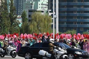 Bất ngờ trong lễ đón Tổng thống Moon Jae In tại Bình Nhưỡng