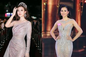 Vừa đăng quang hôm trước, hoa hậu Tiểu Vy đã xuất sắc dẫn đầu top sao đẹp ngay hôm sau