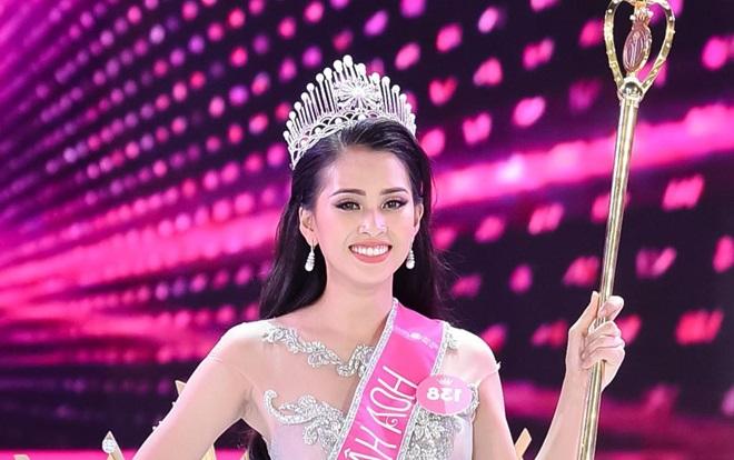 Tân Hoa hậu Việt Nam 2018 Trần Tiểu Vy nhận học bổng 500 triệu đồng ngay sau khi đăng quang