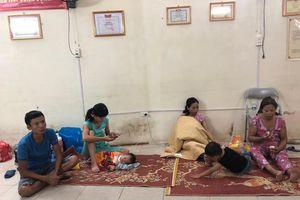 Bệnh viện Nhi TƯ sẽ hỗ trợ cho bệnh nhân nghèo bị cháy giấy tờ, tài sản ở Đê La Thành