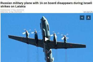 Một máy bay quân sự Il-20 của Nga mất tích