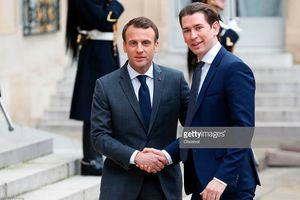 Pháp và Áo nhất trí tăng cường quân số lực lượng biên phòng châu Âu