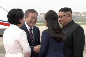 Video, ảnh: Chuyến đi lịch sử của Tổng thống Hàn Quốc tới Bình Nhưỡng bắt đầu