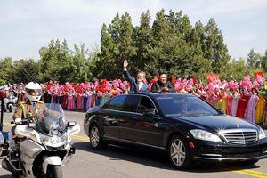Tổng thống Hàn Quốc đến Bình Nhưỡng, người Triều Tiên hô vang khẩu hiệu đặc biệt