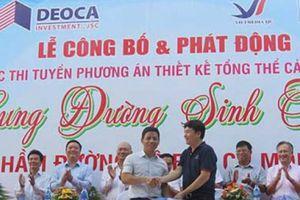 Phú Yên:Phát ng cuc thi thit k cnh quan hm ng b èo Cù Mông
