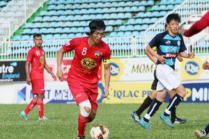 Tiền vệ Tuấn Anh tập hồi phục với bóng ở Hàn Quốc