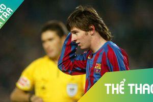 Nhng thc phim cho thy Messi ã phi thng ngay t nh