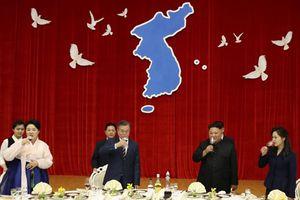 Lãnh đạo liên Triều cam kết cùng nỗ lực vì hòa bình
