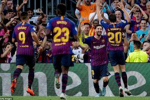 Messi nhẹ nhàng lập cú hat-trick giúp Barca đánh bại PSV