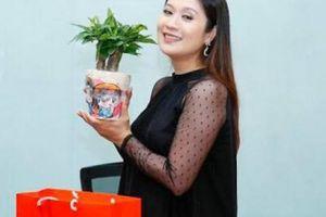 Diễn viên Thanh Thúy báo tin vui đã mang bầu được 5 tháng