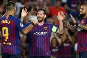 Messi lập siêu phẩm, Barcelona đại thắng PSV tại Nou Camp