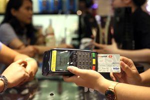 Số lượng giao dịch thanh toán qua thẻ Visa tăng 45%