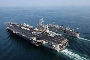 Tàu sân bay Mỹ vào Địa Trung Hải giữa lúc Trung Đông căng thẳng