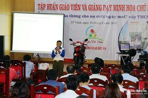 Hơn 400 trường học ở Nghệ An triển khai chương trình 'ATGT cho nụ cười ngày mai'
