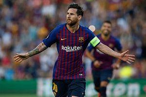 Messi vượt mặt Ronaldo trở thành vua hat-trick