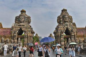 Đền Angkor Wat nổi tiếng Campuchia bất ngờ xuất hiện ở Trung Quốc