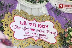 Hé lộ khung cảnh đám cưới tại nhà cô dâu 61 lấy chồng 26 tuổi