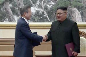 Lãnh đạo hai miền Triều Tiên ký kết thỏa thuận tại Bình Nhưỡng