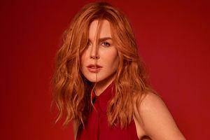 Thiên nga nước Úc Nicole Kidman thả rông vòng 1 ngọc trà trên tạp chí