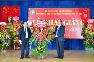 Trường Đại học TN&MT Hà Nội khai giảng năm học 2018-2019