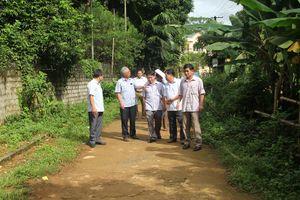 Ban Dân tộc HĐND tỉnh giám sát tình hình thực hiện đầu tư xây dựng các công trình kết cấu hạ tầng tại huyện Ngọc Lặc
