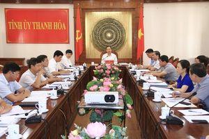 Thường trực Tỉnh ủy cho ý kiến vào một số dự án đầu tư xây dựng trên địa bàn tỉnh
