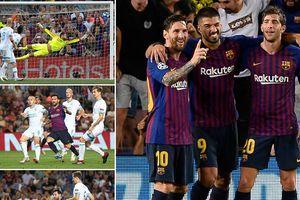 Chấm điểm Barca 4-0 PSV: Lionel Messi nhận điểm 10 hoàn hảo