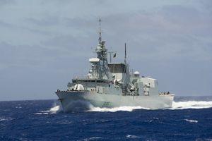 Khu trục hạm Canada sắp tới Đà Nẵng, tham gia diễn tập cùng Hải quân Việt Nam
